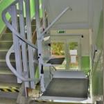 Výtah pro vozíčkáře v domě s pečovatelskou službou