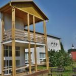Zahrada domu s pečovatelskou službou